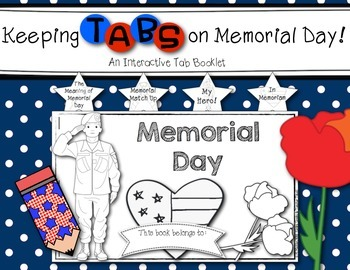 Keeping Tabs on Memorial Day {Interactive Tab Book for Soc