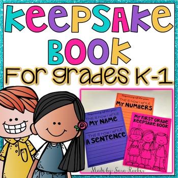 Keepsake Book {Grades K-1}