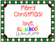 Keepsake Christmas Gift {Freebie}!