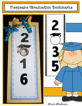 Keepsake Graduation Bookmarks Through 2035