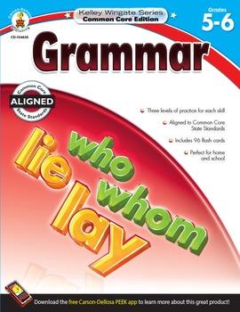 Kelley Wingate Grammar Grades 5-6 SALE 20% OFF! 104635