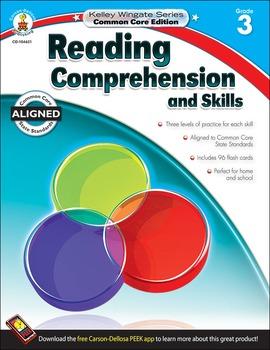 Kelley Wingate Reading Comprehension and Skills Grade 3 SA