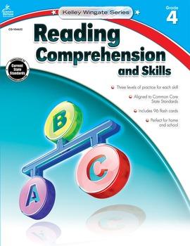 Kelley Wingate Reading Comprehension and Skills Grade 4 SA