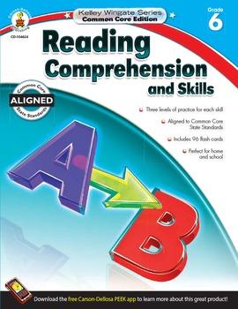 Kelley Wingate Reading Comprehension and Skills Grade 6 SA