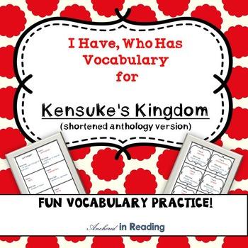 Kensuke's Kingdom (Shortened Anthology Version) I Have Who