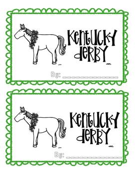 Kentucky Derby Fact Booklet