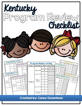 Kentucky Program Review Checklist
