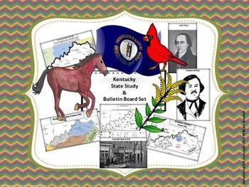Kentucky State Study & Bulletin Board Set