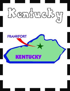Kentucky State Symbols and Research Packet