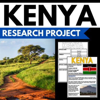 Kenya - Facts and Information about Kenya - Guided Researc
