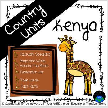 Second and Third Grade Kenya Unit