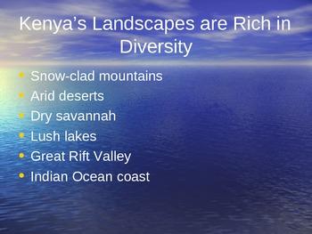 Kenya's Landscapes