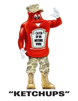 Ketchups and Pickles Classroom Management Freebie!