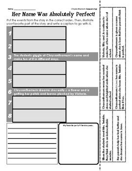 Kevin Henkes (Chrysanthemum - Sequencing / Retelling)