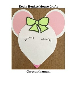 Kevin Henkes Mouse Character Crafts