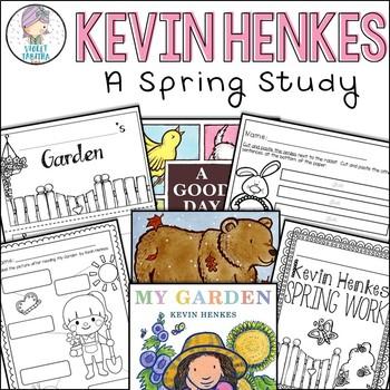 Kevin Henkes Spring Book Activities Old Bear My Garden