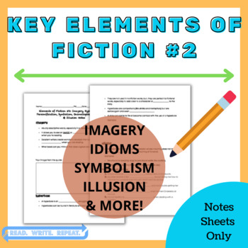 Key Elements of Fiction #2 Powerpoint Notes