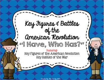 Key Figures & Major Events of the American Revolution {I H
