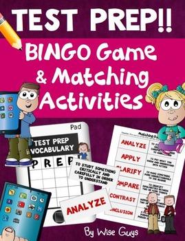 Test Prep Vocabulary Bingo