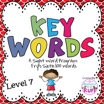 Fry's Sight Words 501-600