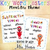 Word Problem Key Word Posters - Free Display