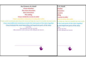 Key features of a Retell Checklist