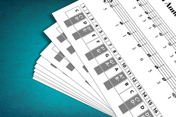 Keyboard Sheet Music: Go Tell Aunt Rhodie with MP3 Play-Al