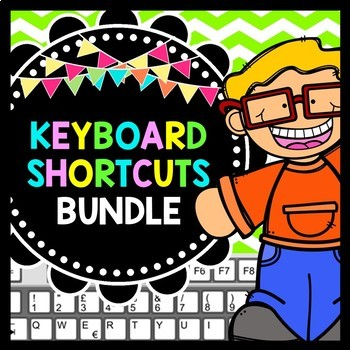 Keyboard Shortcuts - Technology in the Classroom - BUNDLE PACK