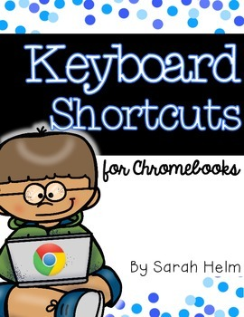 Keyboard Shortcuts for Chromebooks {Posters}