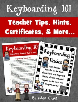 Keyboarding Teacher Tips Strategies and Posters