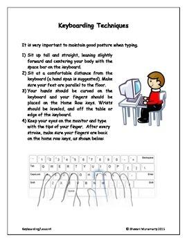 Keyboarding - Techniques