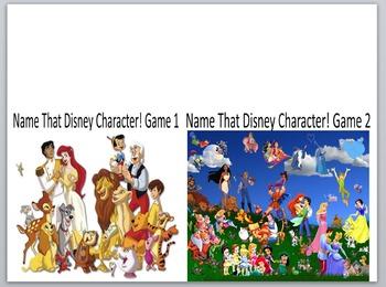 Keyboarding-Typing Games- Name That Disney Character! Game