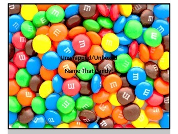 Keyboarding-Typing Games- Unwrapped/Unboxed-Name That Candy!