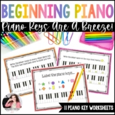 Piano Keys Worksheets: Keys are a Breeze!
