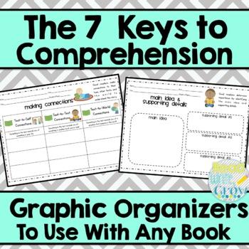 Keys to Comprehension: Printable Graphic Organizers to Use