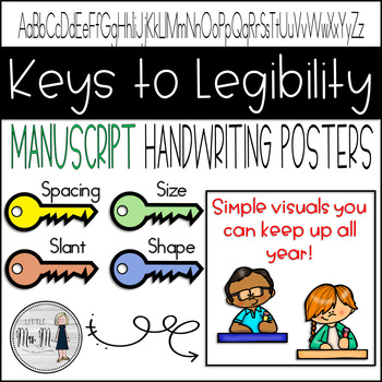 Keys to Legibility for Handwriting Posters