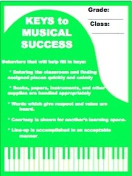 Keys to Musical Success: Tracking Behavior in the Music Room