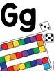 Keyword Alphabet Cards- Line and Word Wall Headers