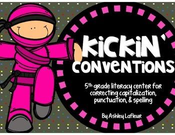 Kickin' Conventions {Spelling, Capitalization, & Punctuati