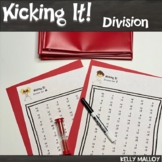 Math Facts - Division Facts Fluency Program - Kicking It Math