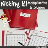Math Facts Multiplication & Division  Kicking It Math Fact