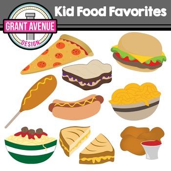 Kid Food Clipart