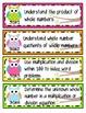 Kid-Friendly Common Core Standard Cards--Grade 3! {Bright