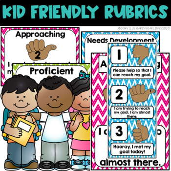 Kid Friendly Rubric - Primary