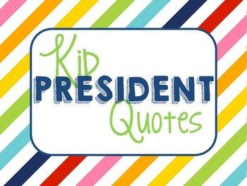 Kid President Quotes-Rainbow Stripe