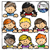 Kid Page Toppers Clipart Bundle