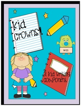 Kid Writing Crowns