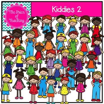 Kiddies 2 Clipart Set