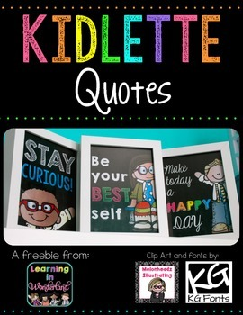 Kidlette Quotes Freebie