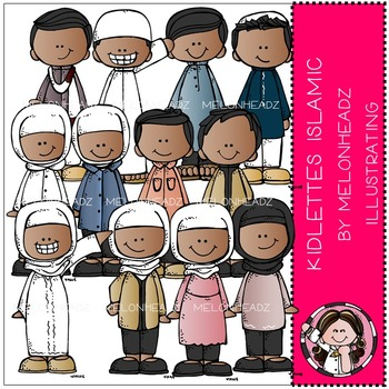 Kidlettes Islamic by Melonheadz COMBO PACK